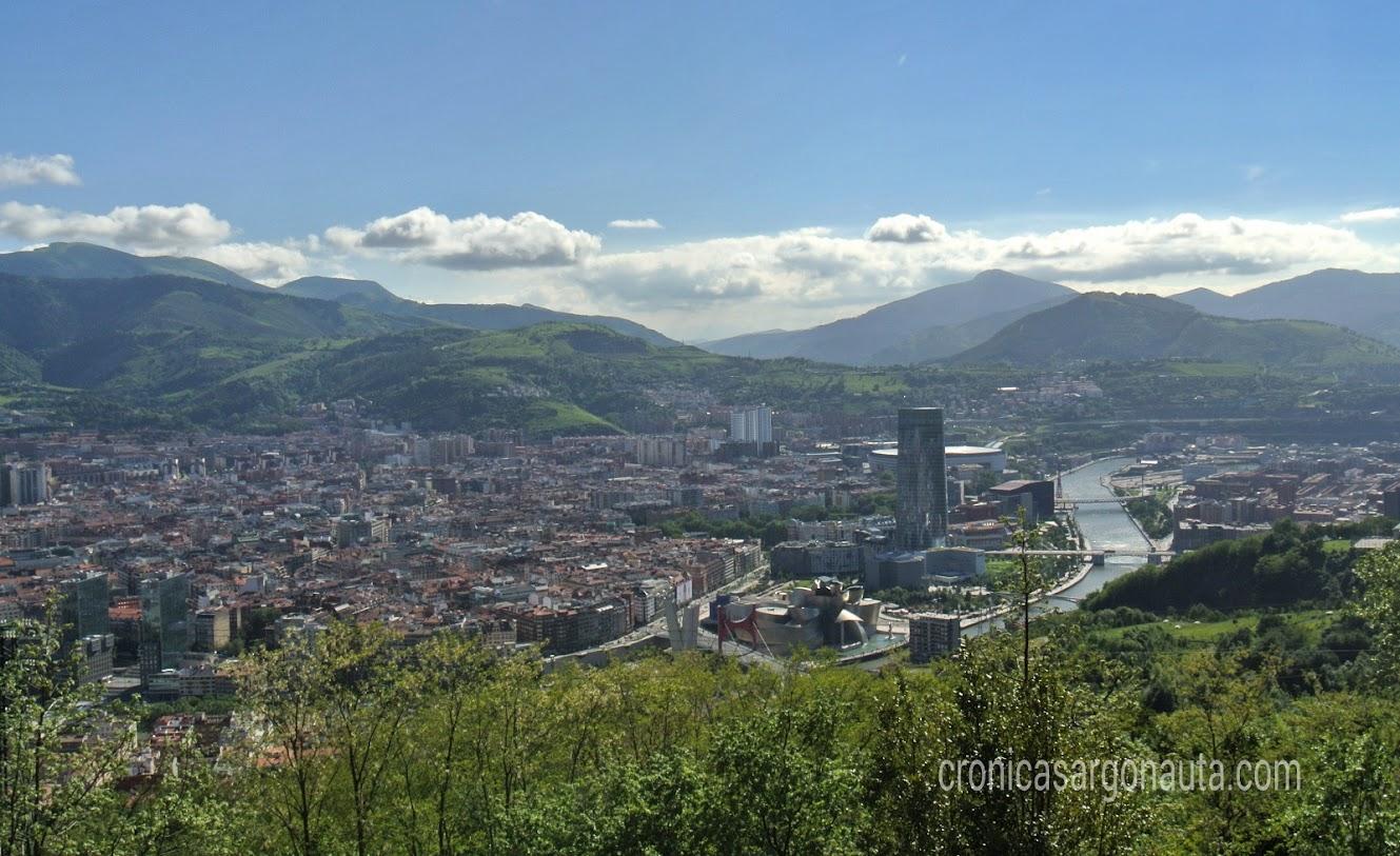vistas de Bilbao