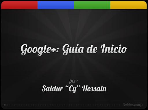 introducción a Google+ Guia de inicio en español