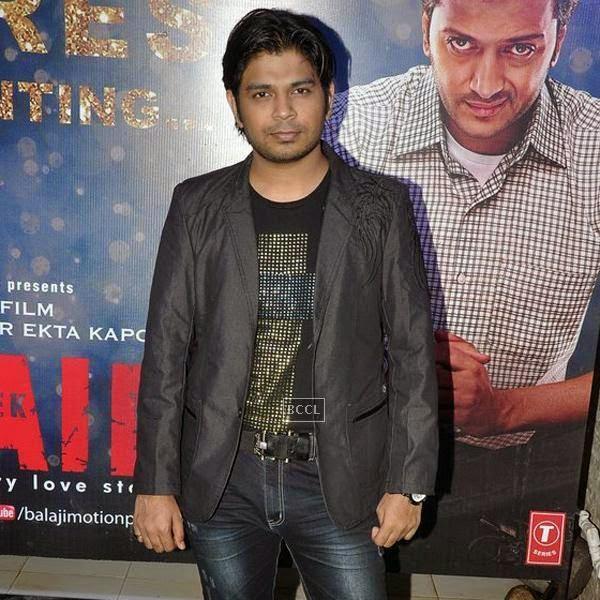 Singer Ankit Tiwari at the success party of Bollywood movie 'Ek Villain', held at Ekta Kapoor's residence on July 15, 2014.(Pic: Viral Bhayani)