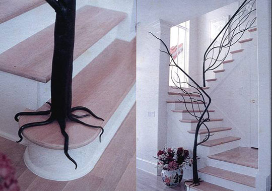 Tree Branch Stair Design