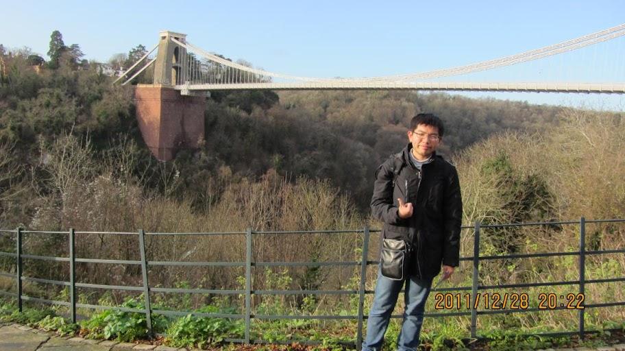 來到Bristol沒有來拍吊橋,真的很可惜!!! 一定要來看~