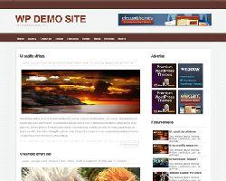 Brownblog Free WordPress Theme