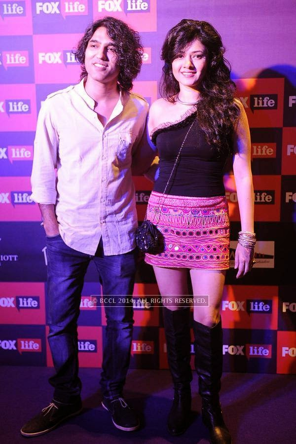 Naresh Kamath and Sonal Sehgal during the launch of FOX Traveller's new television channel FOX Life, in Mumbai, on July 16, 2014.