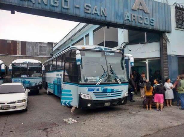 Dos personas heridas en ataque armado a oficinas de Transportes Marquensita