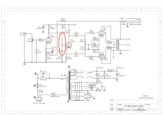 Antique Radio Forums • View topic - 6V6 Kit Amp - Schematic drawn wrong?