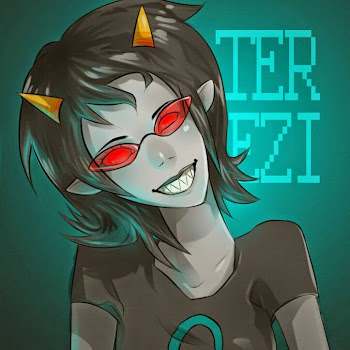 "Who is Terezi ""CH4LK 34T1NG"" Pyrope?"
