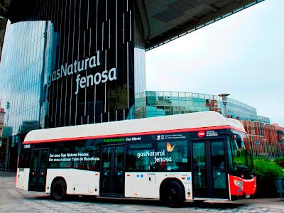 Castrosua CNG Hybrid - I autobus hybrydowy na CNG dla Barcelony