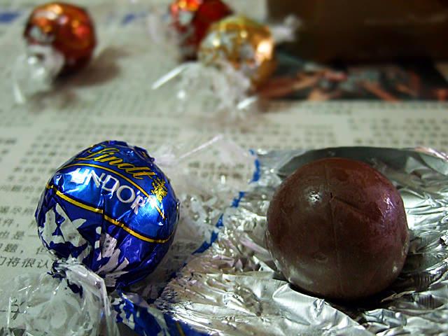 Lindt's Lindor assorted chocolates