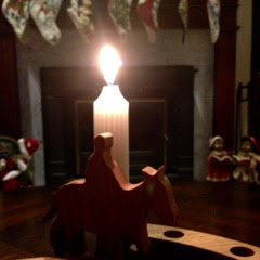 advent, candle, light, Jesus, christmas, flu, sick, simple, 1000 gifts