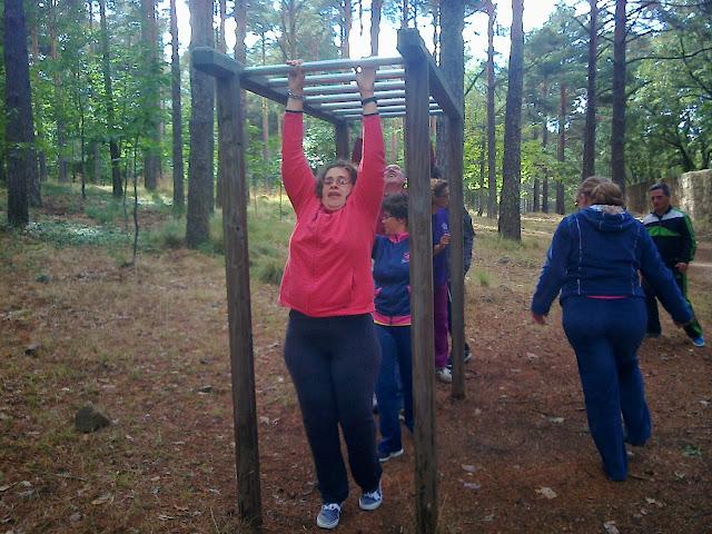 actividades al aire libre del grupo de ociodiscap