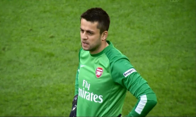 Fabianski, Wigan - Arsenal