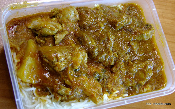 goat and chicken curry