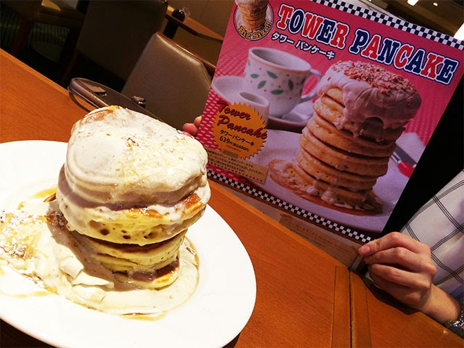 タワーパンケーキの理想と現実