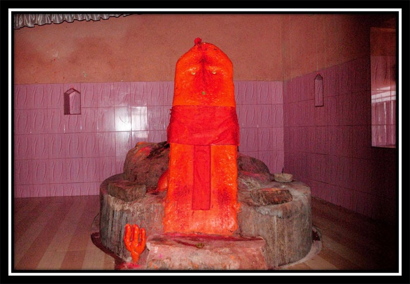 Swayambhu at Barwadih Temple