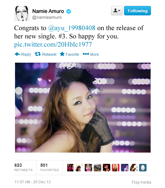 If Namie Amuro were on Twitter... | Random J pop