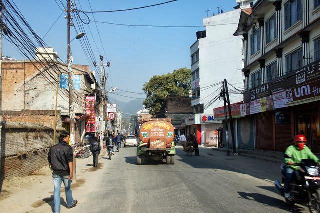 達人帶路-環遊世界-尼泊爾PoonHill健行-街頭