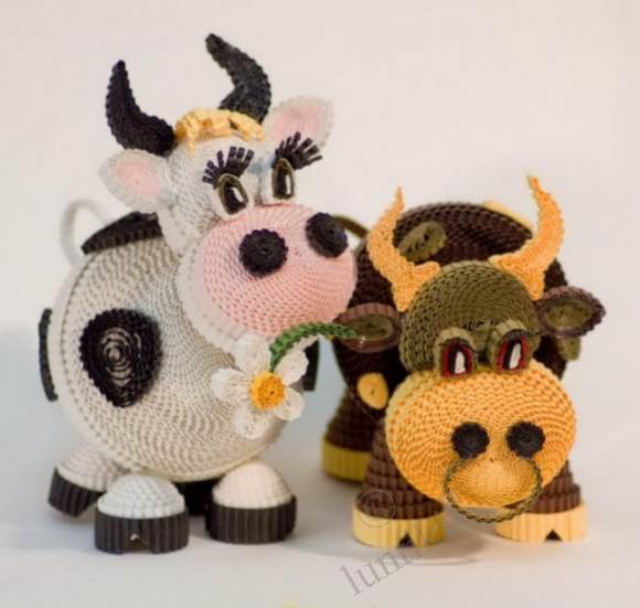 Tutorial Vaca Amigurumi Cow : amigurumi vacas, caballos, cerdos, animales de granja on ...