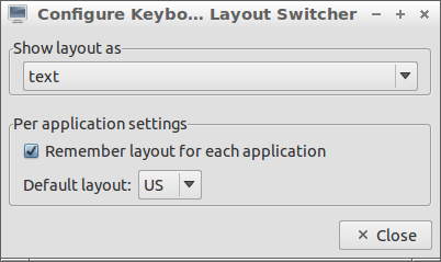 Layout Switcher