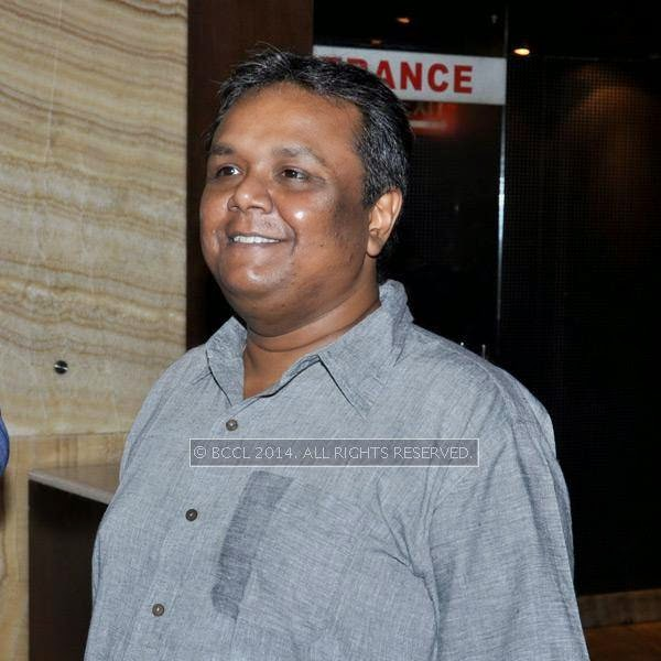Indradip Dasgupta during the premiere and after party of the film Maya, in Kolkata.
