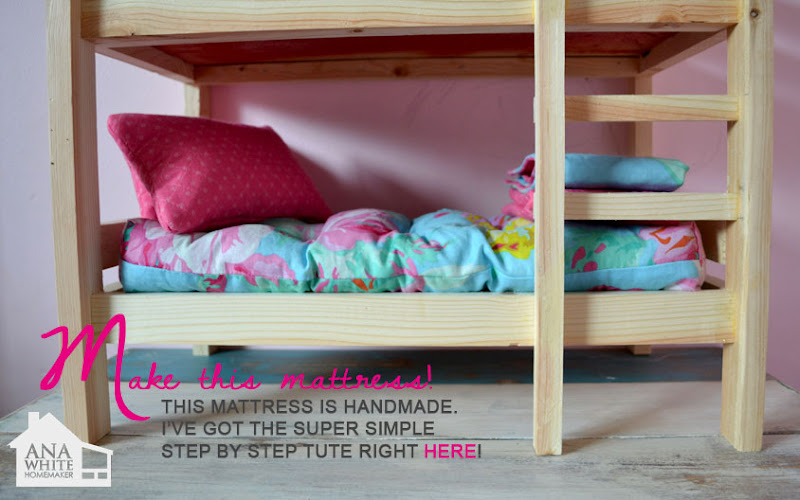 build your own doll bed