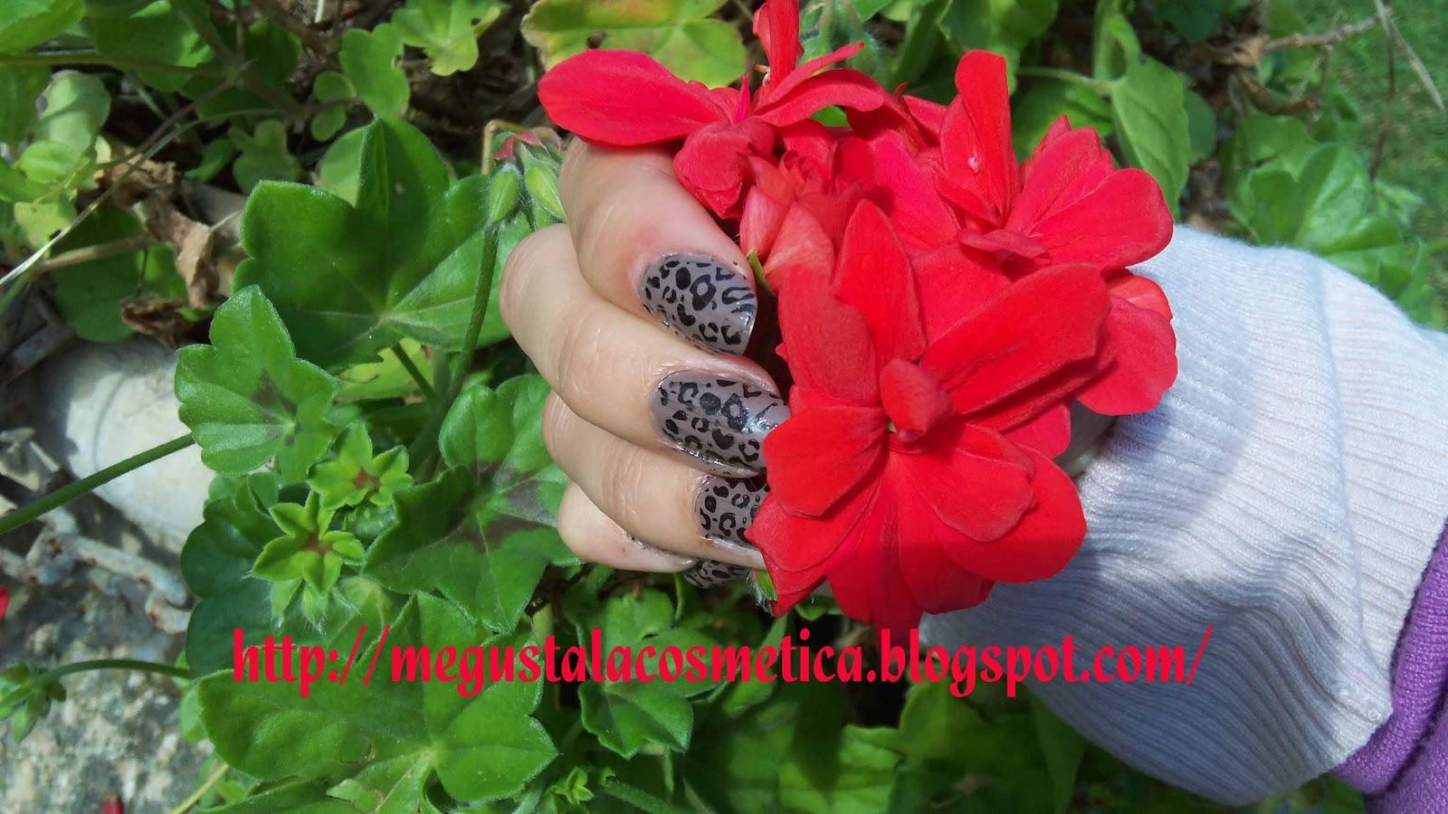 Me gusta la cosmetica: Uñas de leopardo solo para atrevidas!!