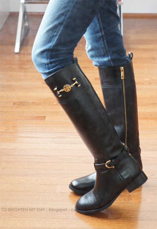 Riding Boots Part Ii Tory Burch Nadine To Brighten My Day