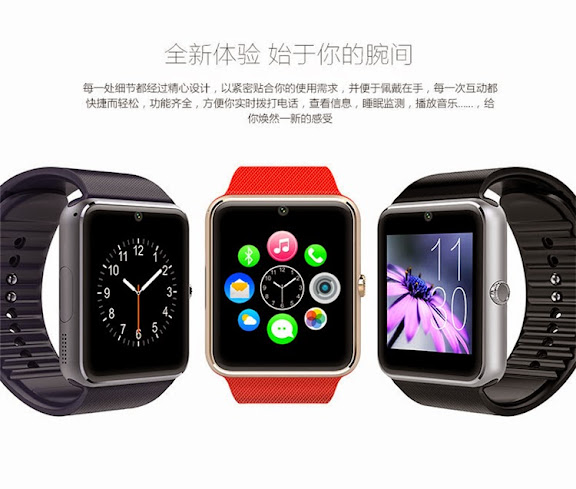3774ab3a157592 Buy iWatch Smart Watch GT08 2.0M Digital Bluetooth for Android and ...