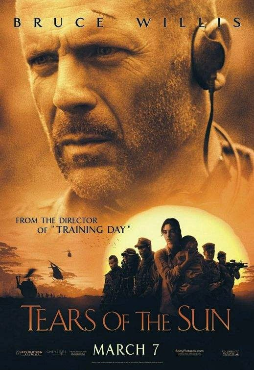 Poster Of Tears of the Sun (2003) Full Movie Hindi Dubbed Free Download Watch Online At Alldownloads4u.Com