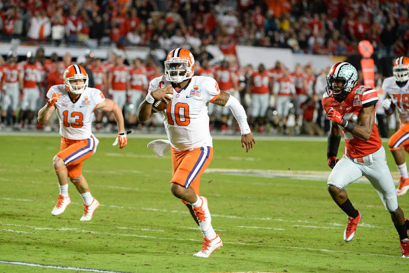 Orange Bowl vs OSU Photos - 2014, Bowl Game, Football, Ohio State, Tajh Boyd