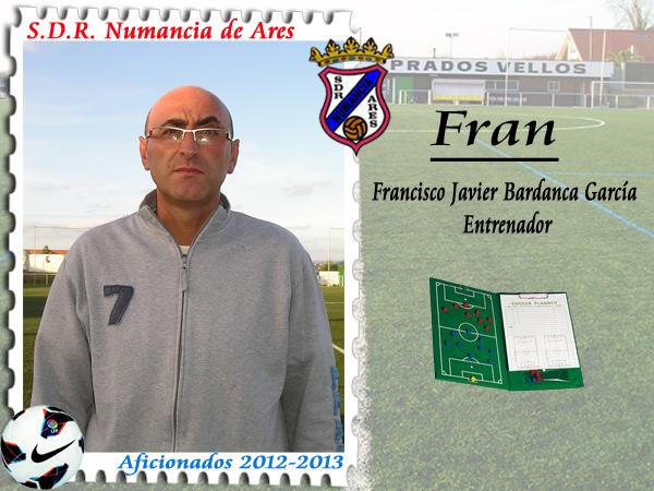 ADR Numancia de Ares. Fran Bardanca