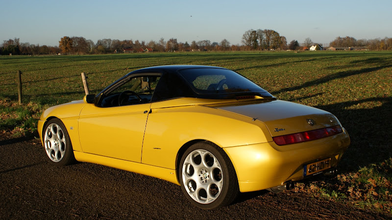 Autodelta Spider Hard Top Wanted Piazza Squadra - Alfa romeo spider hardtop for sale