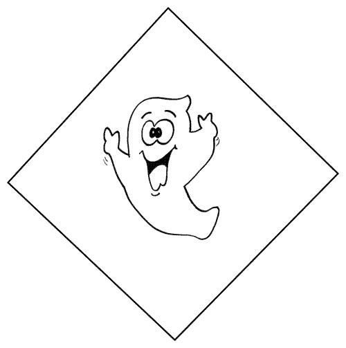 Fantasma Burlón Dibujo
