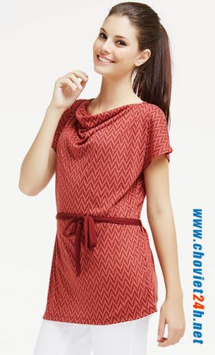 Áo thời trang Sophie Faity Red