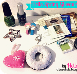 Hello Spring! Giveaway 20/04