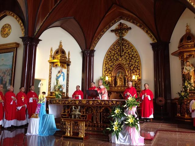 Lễ Thánh Stêphanô Thể tại Vĩnh Thạnh