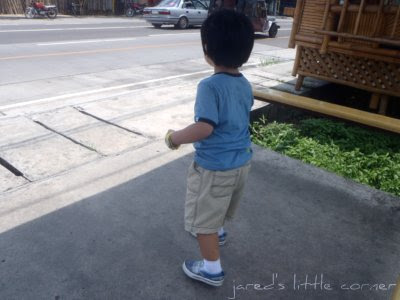 toddler, out + about