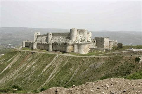 Near East: Syrian army takes Krak des Chevaliers in Homs