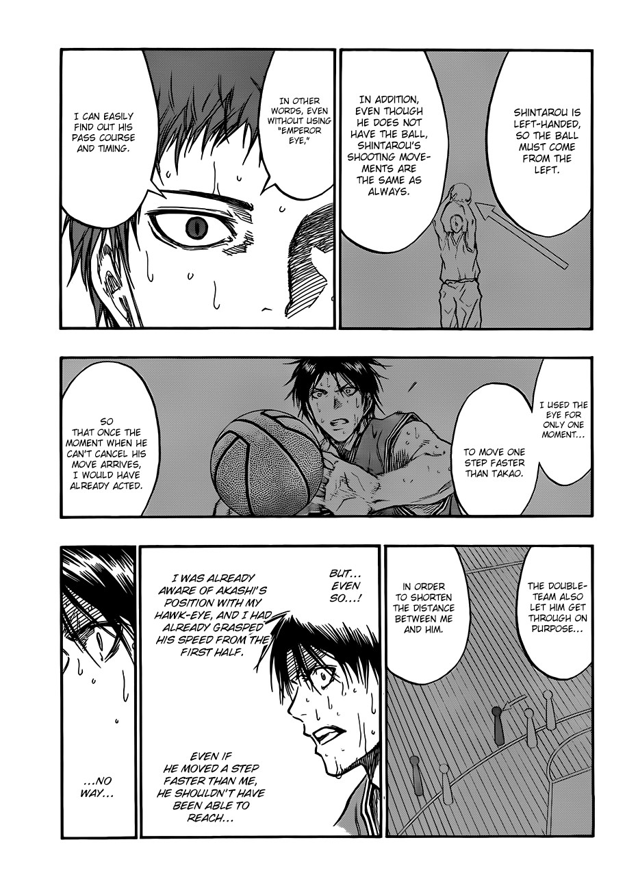 Kuroko no Basket Manga Chapter 182 - Image 11