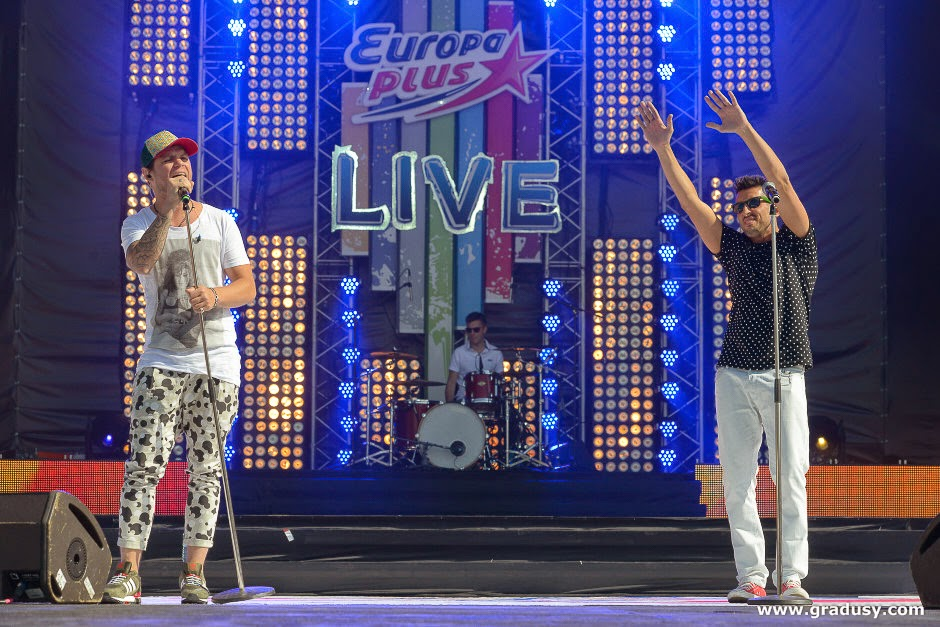 Фоторепортаж - концерт группы Градусы на Europa Plus Live 2014