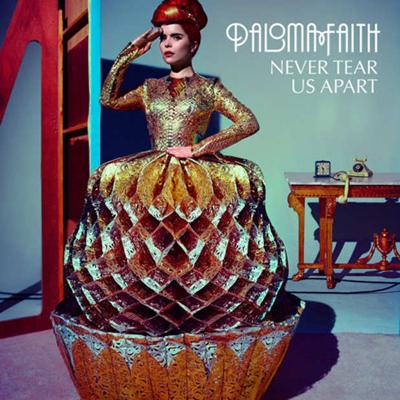 Paloma Faith - Never Tear Us Apart 2012, Artcover