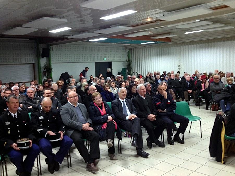 Cérémonie des vœux le 6 janvier 2017 à Sulniac