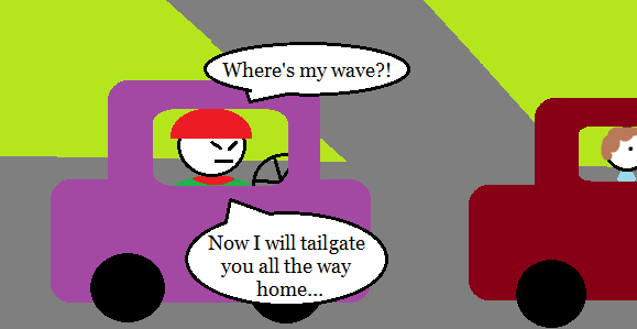 Giving way 2