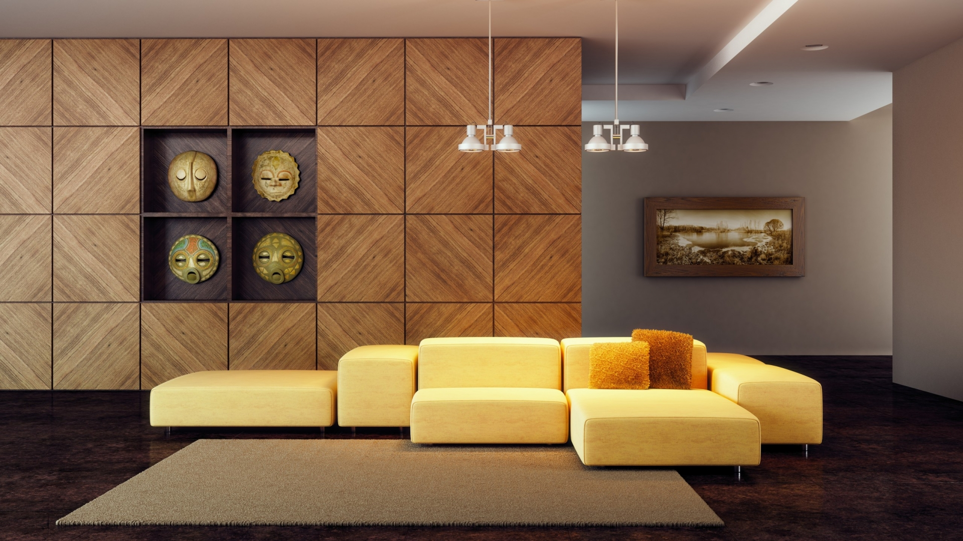 Modern Living Room Hd warm and modern living room ~ mystery wallpaper