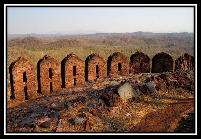 Old Palamu Fort - Above the wall