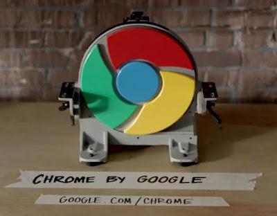 Google Chrome Hız Testi Video