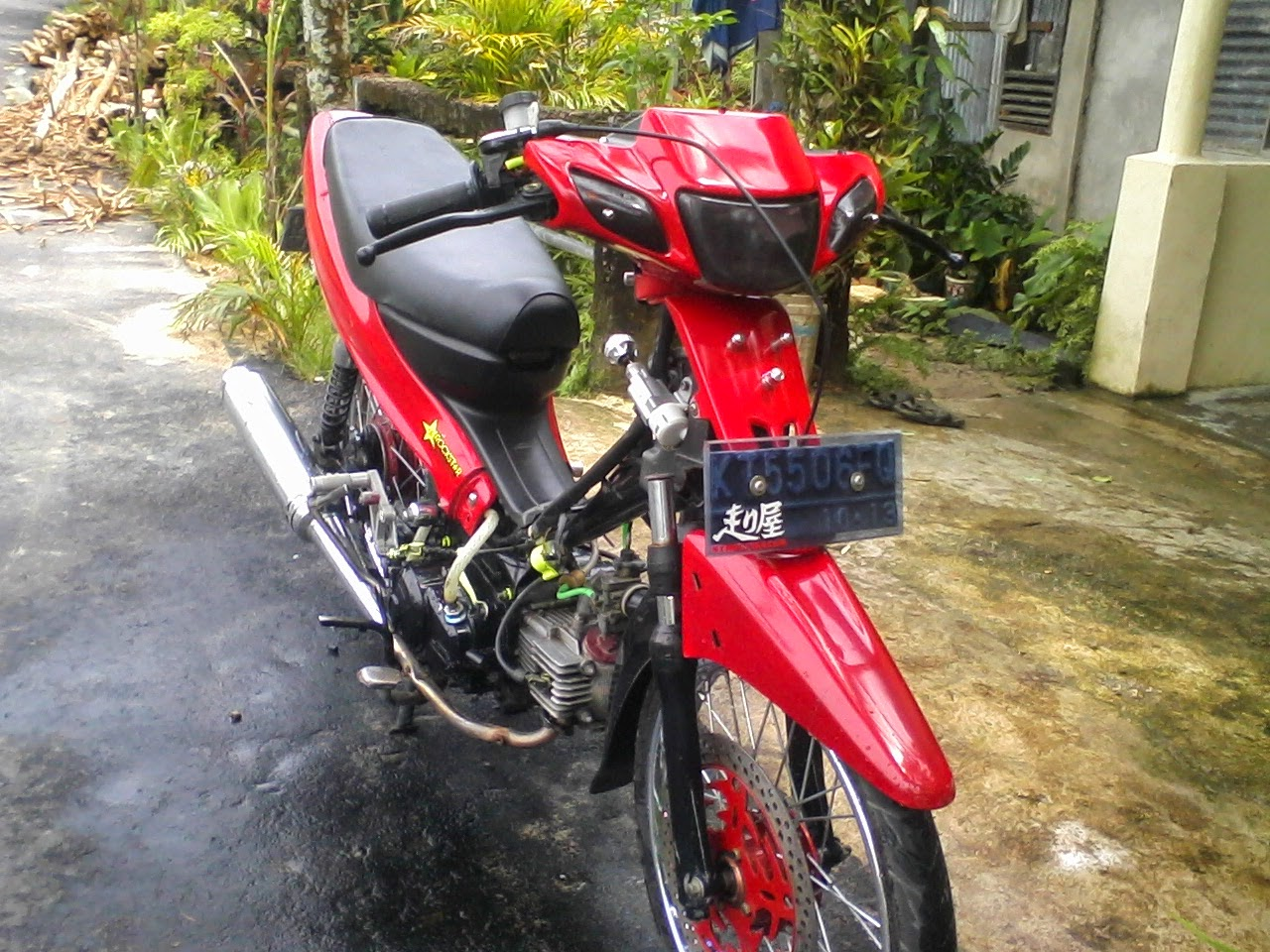 Vega R New Modifikasi Harian