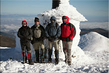 San Lorenzo mendiaren gailurra 2.262 m.  -  2007ko abenduaren 23an