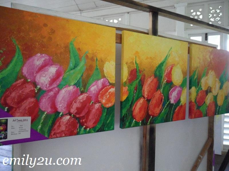 Art Tunes 2011 Julbert Maranon Solo Painting Exhibition