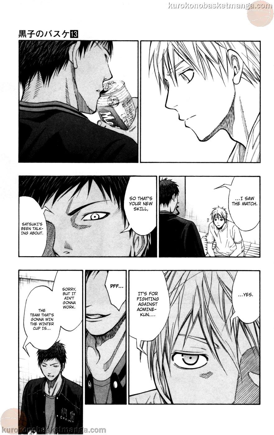 Kuroko no Basket Manga Chapter 110 - Image 07
