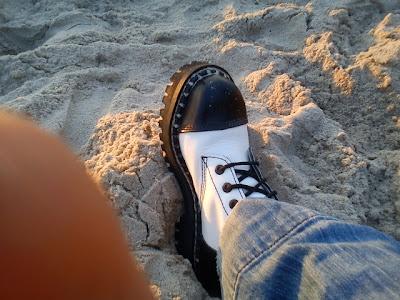 Darłowo Darłówek Anna Przybytniak Grabowska Zachód słońca na plaży plaża morze romantycznie pasek woda spacer wakacje urlop wypoczynek relaks Panorama LeSage